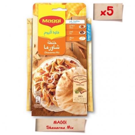 Maggi Shawarma Mix 40g Sachet, 5 Pcs