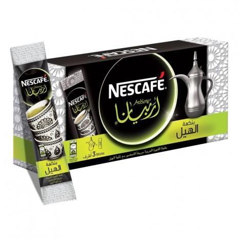 NESCAFE ARABIANA Instant Arabic Coffee with Cardamom 17g (3 Sticks)