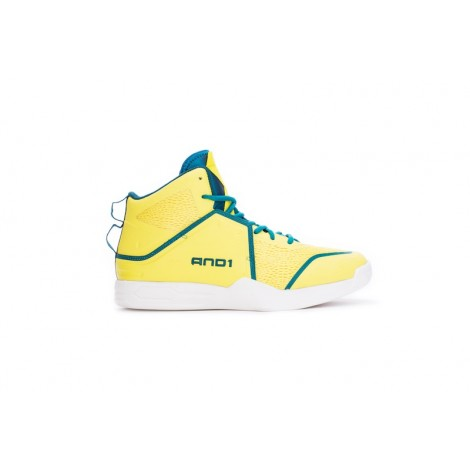 And1 Havok Mid Basketball Shoes Size 43