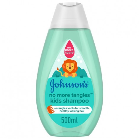 JOHNSON'S, Shampoo, No More Tangles Kids Shampoo, 500ml