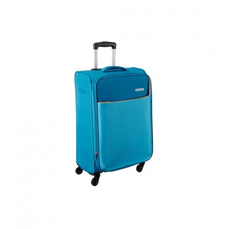 American Tourister Polyester 80 cms Turquoise