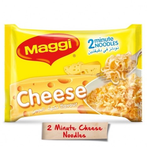 Maggi 2 Minutes Noodles Cheese, 5 Pcs