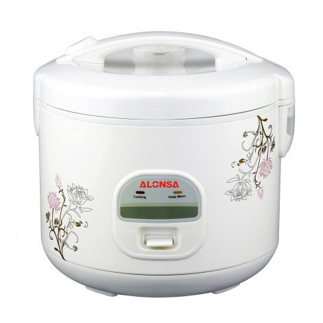 Alonsa 1.8L Rice Cooker W/Steamer , AL-810RC