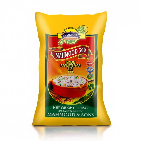 Mahmood 500 Indian 1121 Basmati Rice - 10 kg