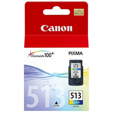 Canon CL-513 High Capacity Tri-Colour Ink Cartridge