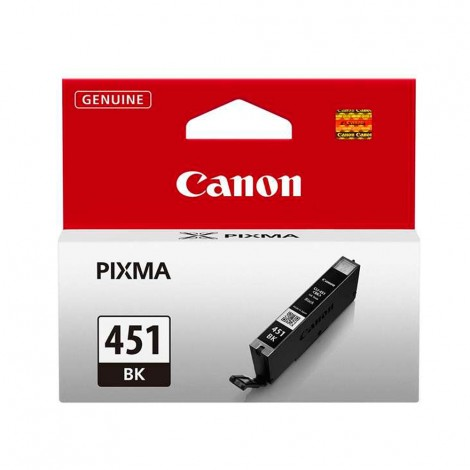 Canon CLI-451BK InkJet Cartridge - Black