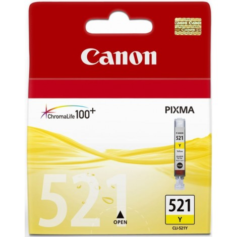 Canon CLI-521Y Ink Cartridge - Yellow