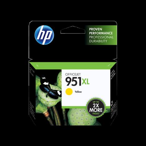 HP 951XL High Yield Yellow Original Ink Cartridge (CN048AE-BGX)