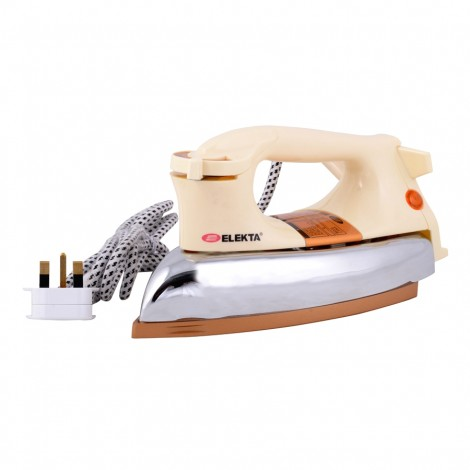 Elekta Heavy Duty Dry Iron with Teflon Coated soleplate, EDI-1444