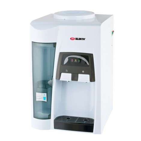 Elekta Hot & Cold Table Top Water Dispenser with Cup Storage, EWD-725C
