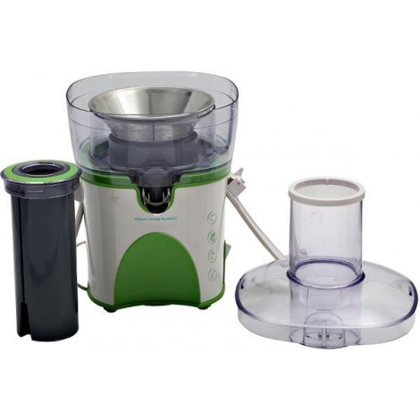 Hitachi Fruit Juicer, HJE900P, 900 W, White/ Green