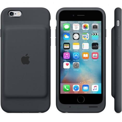 Apple iPhone 6/6s Smart Battery case - Black