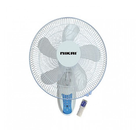 Nikai Wall Fan With Remote - NWF1636R