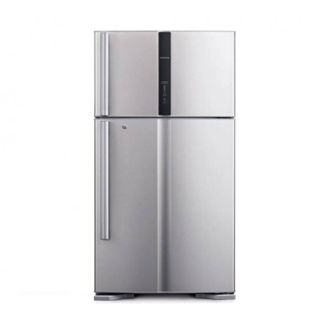 Hitachi Refrigerator Super Big 2 Inverter, RV910PUK1KSLS, 910 L, Silver