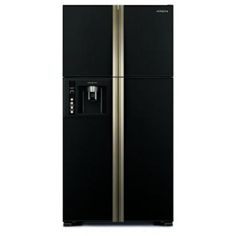 Hitachi 660 liter French Door Refrigerator RW660PUK3GBK
