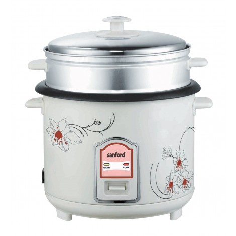 Sanford 1.0L Rice Cooker, SF2500RC BS
