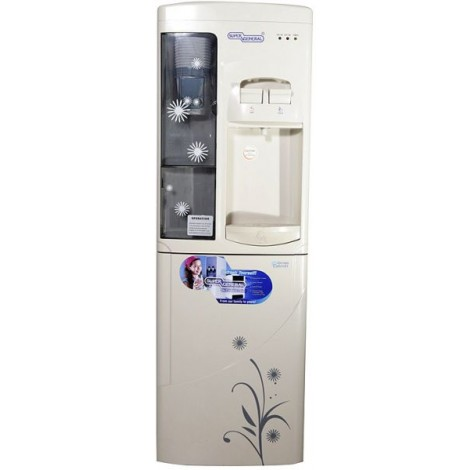 Super General Water Dispenser W/Cabinet & Cup Holder SGL1171