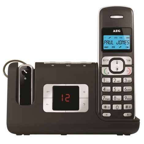 AEG Voxtel D235 Cordless Phone with Answering Machine
