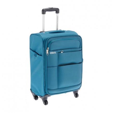 American Tourister Speed Spinner 55Cm C Blue