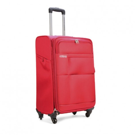 American Tourister Speed Spinner 66Cm C Red