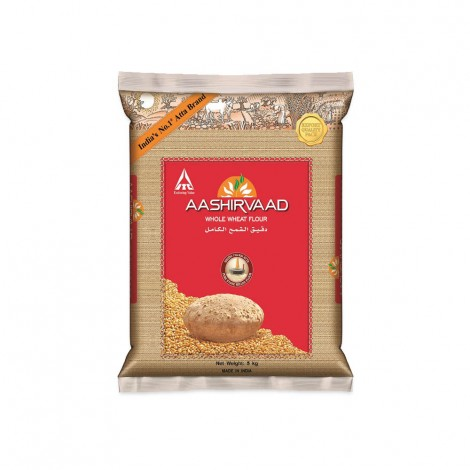 Aaashirvaad Whole Wheat Flour 5 kg