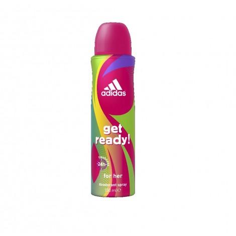 Adidas Female Deo Get Ready 150 ML