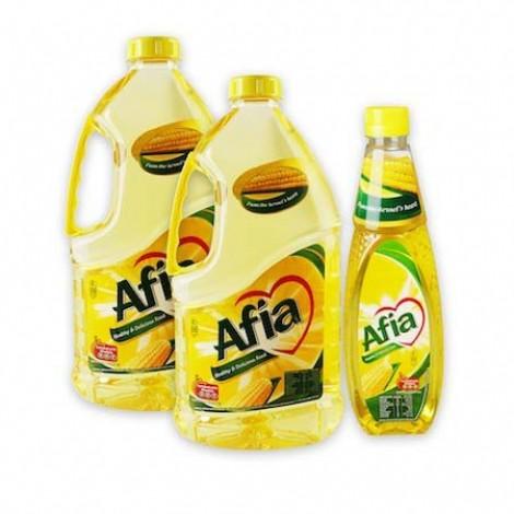 Afia Corn Oil 2x1.8Ltr+750ml