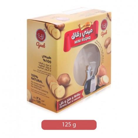Ajeeb Potato, Salt & Vinegar Mini Riqaq Bread - 125 g