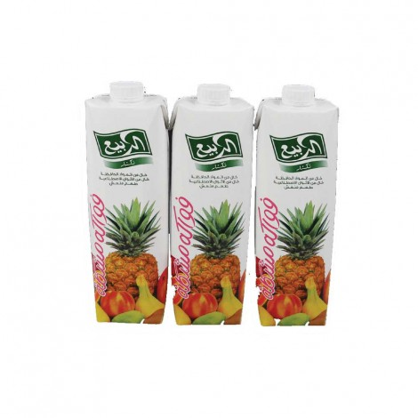 Al Rabie Alrabie Juices - 3x1Ltr