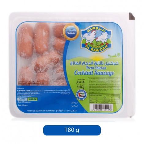 Al-Rawadah-Sausages-Cocktail-Fresh-Chicken-180-g_Hero