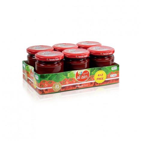 Al Ain Tomato paste 200 gms (4+2 Free)