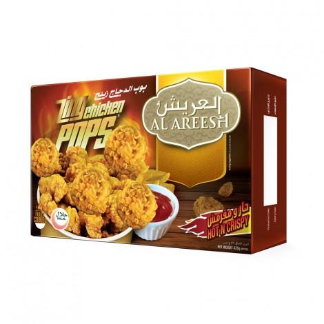 Al Areesh Zing Chicken Pops 420gm