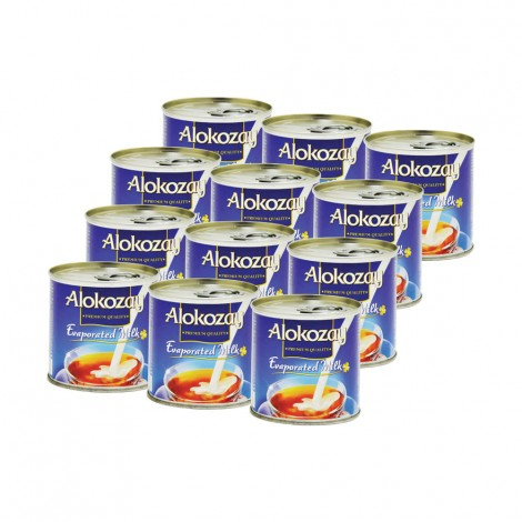 Alokozay Evaporated Milk - 12x170gm