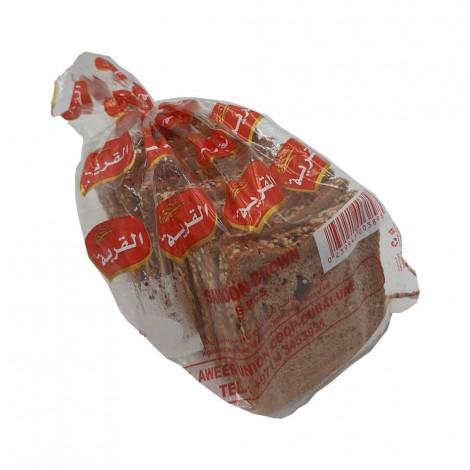 Alqarya Bakery G-Bread Loaf Multi Tigrain 400Gm