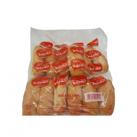 Alqarya Bakery Mini Roll Long - 12's