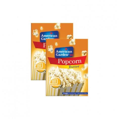 American Garden Popcorn Butter - 2x9.6oz