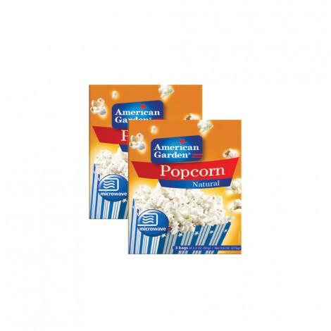 American Garden Popcorn Regular - 2x9.6oz