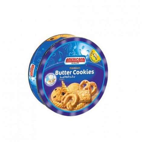 Americana Butter Cookies Tin Blue - 908gm