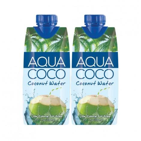 Aqua Coco Coconut Water 2x330ml
