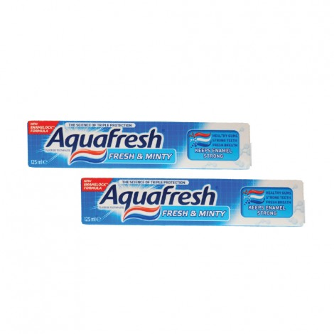 Aqua Fresh Tooth Paste Fresh&Minty - 2+2x125ml