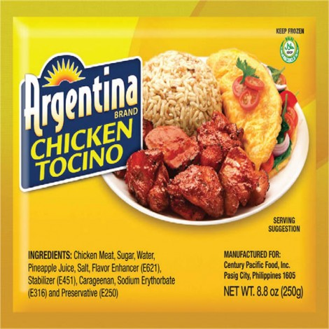 Argentina Chicken Tocino - 250gm