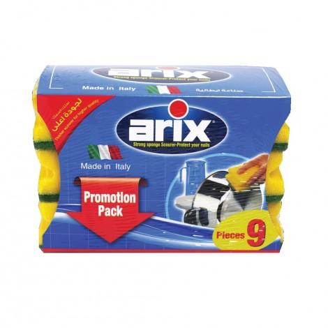Arix Grip Sponge 9Pcs