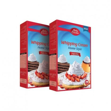 Betty Crocker Whipping Cream, 2x140gm