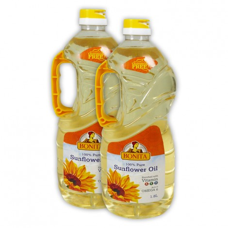 Bonita Sunflower Oil 2x1.8L