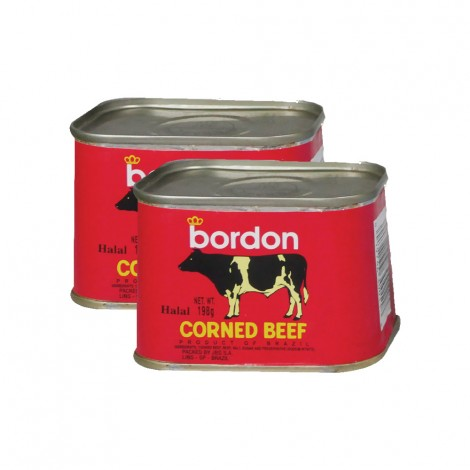 Bordon Corned Beef Salt - 2x198gm
