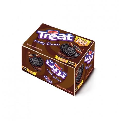 Britannia Treat Cream Chocolate 60gm 10+2