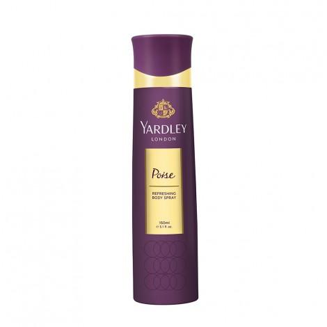 Yardley Poise Body Spray 150Ml
