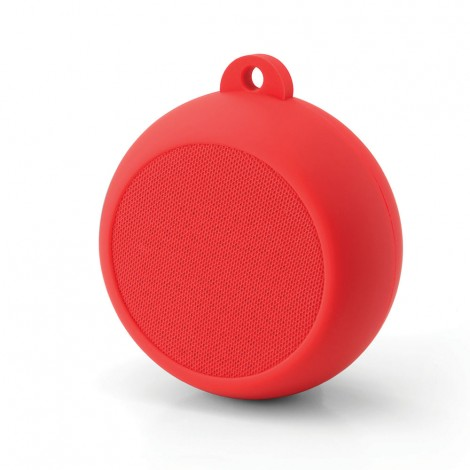 Yell Portable Bluetooth Speaker With Power Bank Red BTS760R
