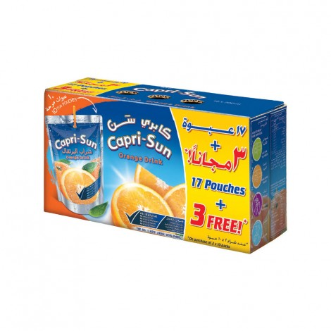 Capri-Sun 200ml Twin Pk 17+3Free