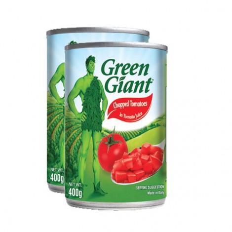 Green Giant Chopped Tomato 2X400Gm
